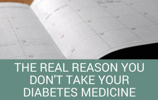take your diabetes medication