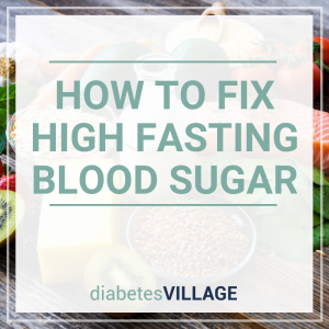 high fasting blood sugar