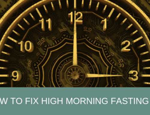 How to fix high morning blood sugars