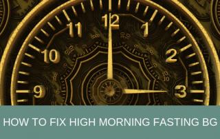 high fasting blood sugar